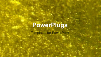 PowerPoint Template - An abstract sparkle glittering background